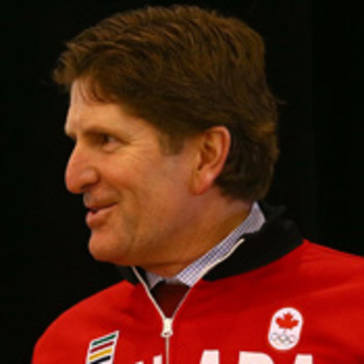 mike babcock 2014 men's olympic hockey canada