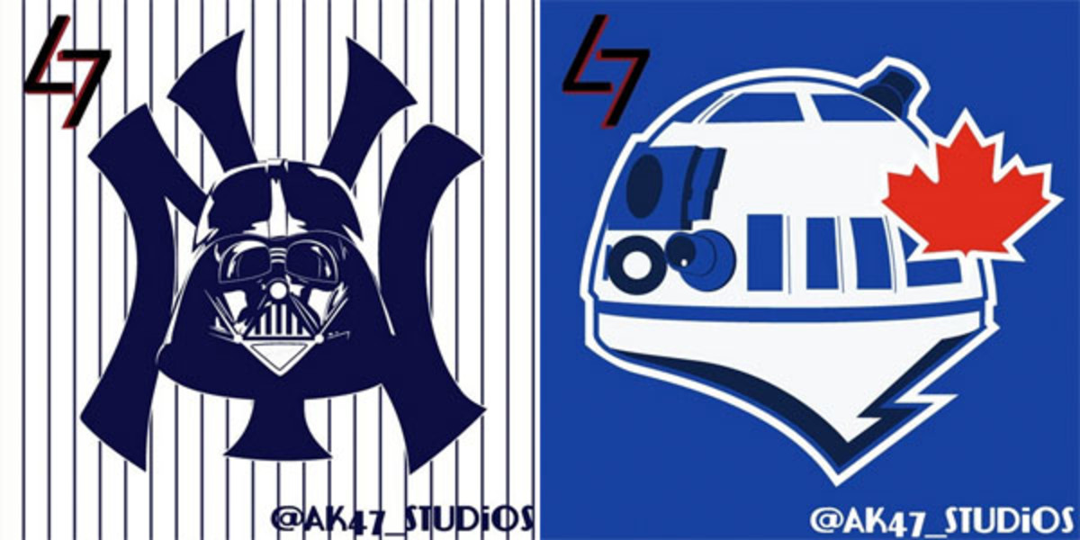 mlb star wars logos