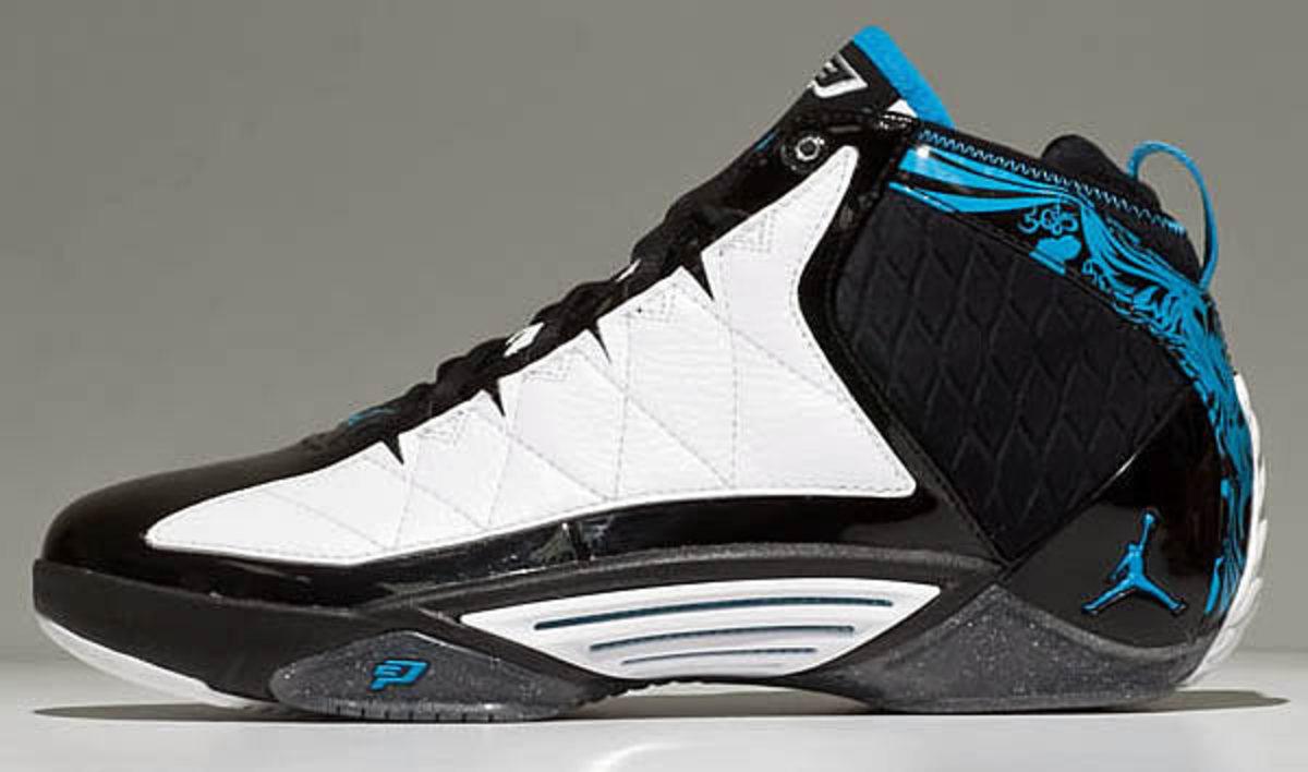 The Jordan CP3 II, in blue/white/black