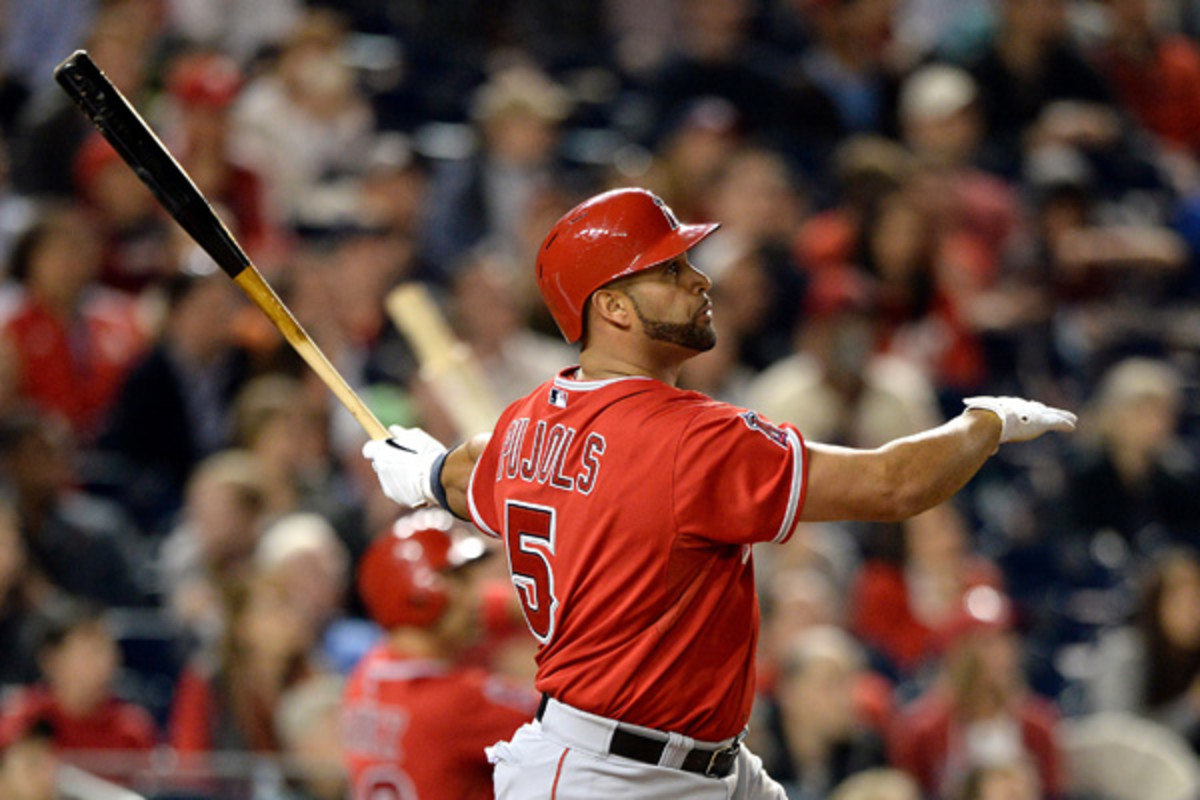 albert pujols anaheim angels