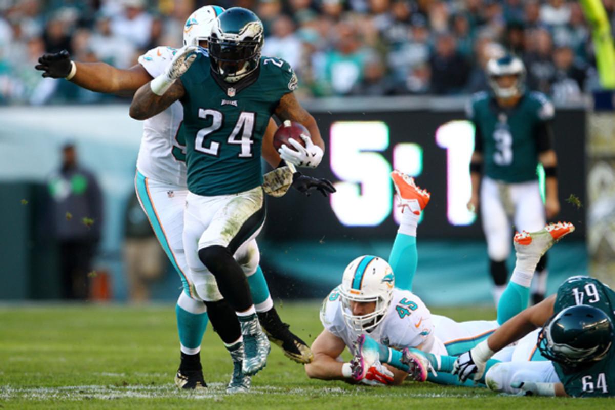 fantasy football 2015 week 11 risers sliders ryan mathews