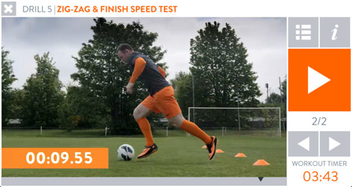 wayne rooney fivestar training app