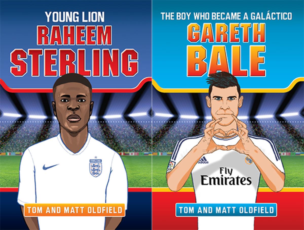 tom and matt oldfield soccer books