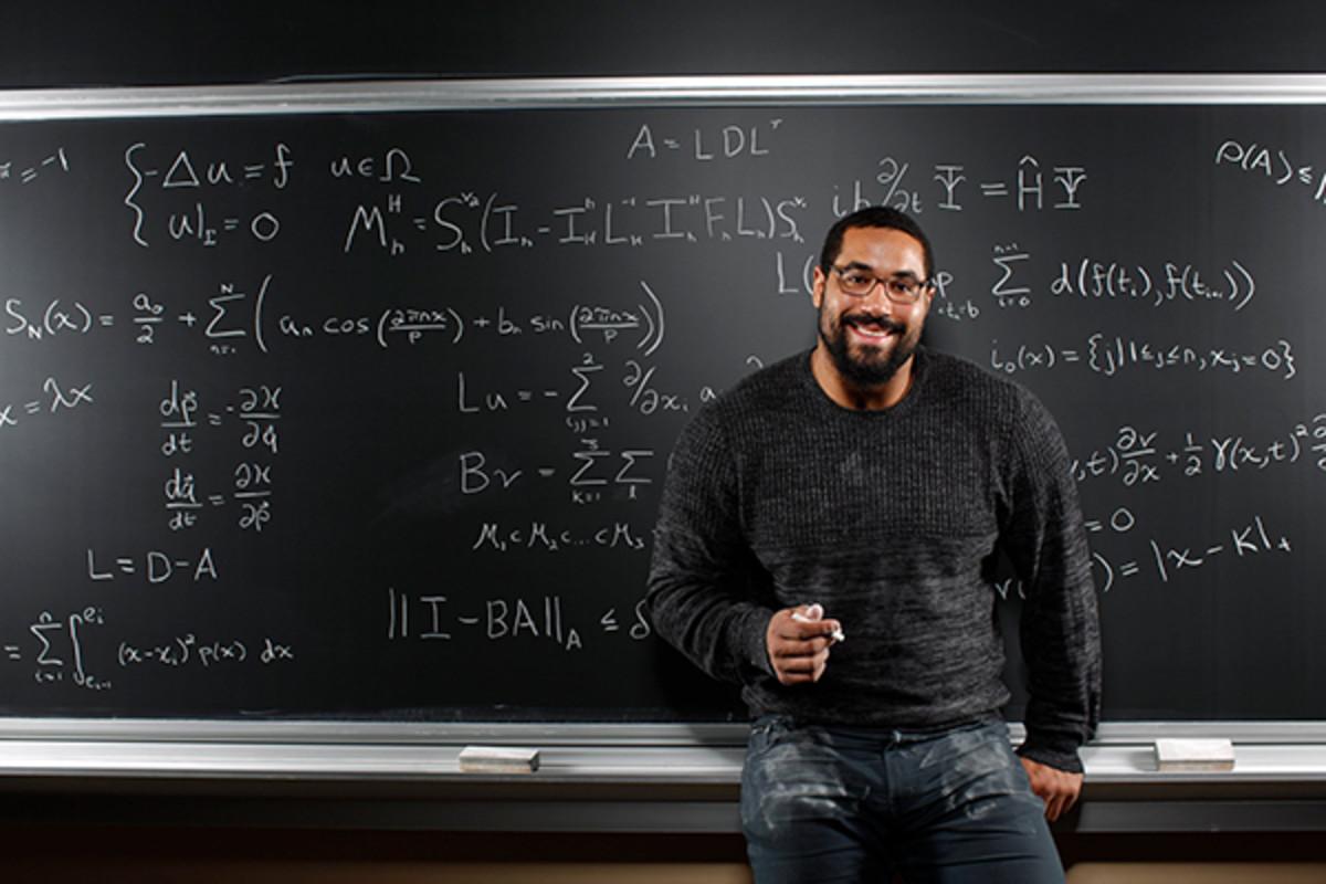 john urschel baltimore ravens math