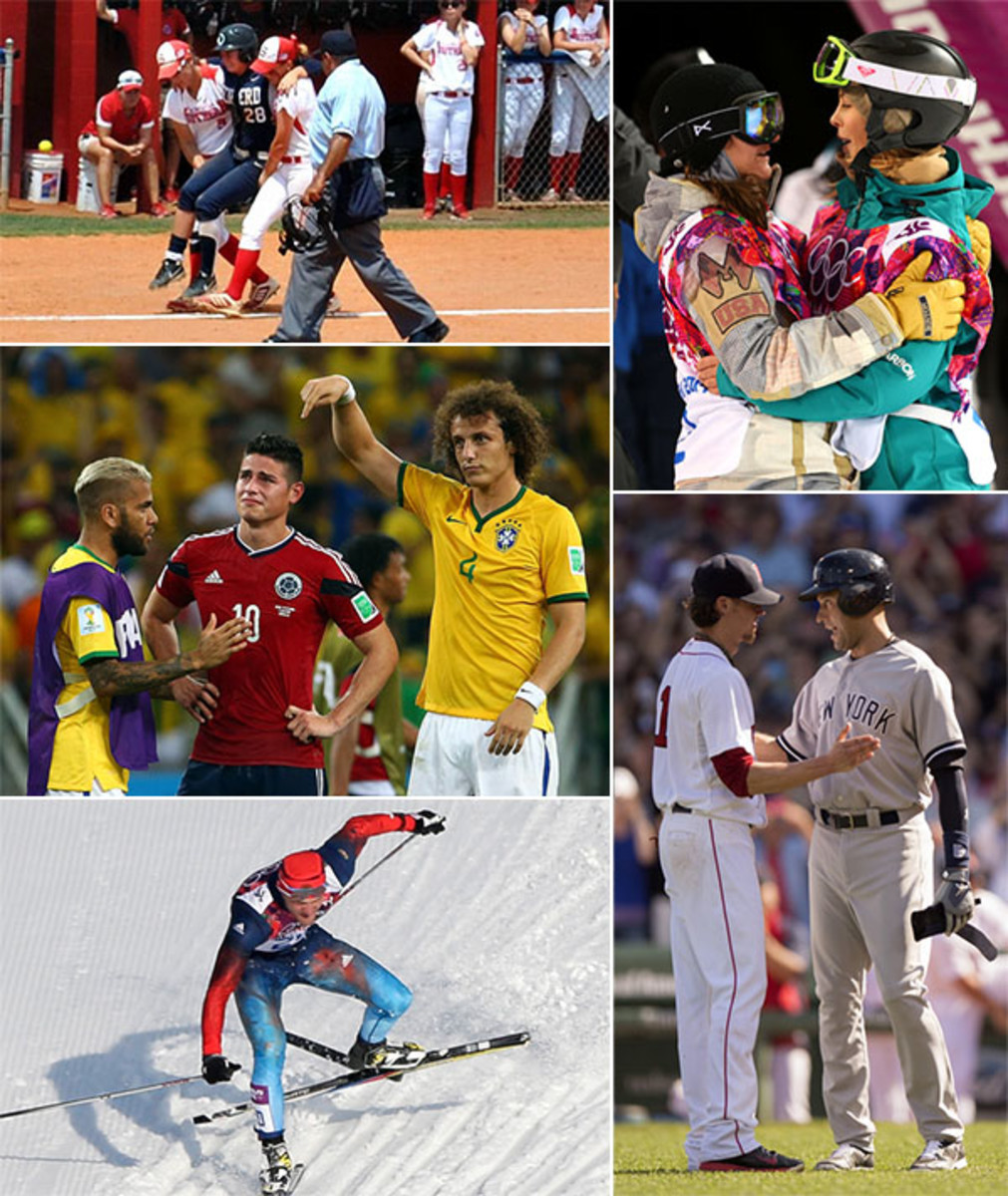 2014 sportsmanship moments
