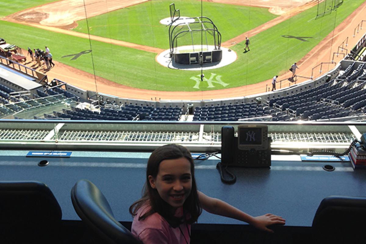 SI Kids kid reporter yankee stadium