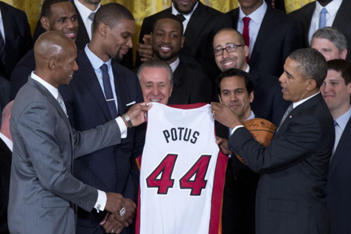 miami heat white house president obama