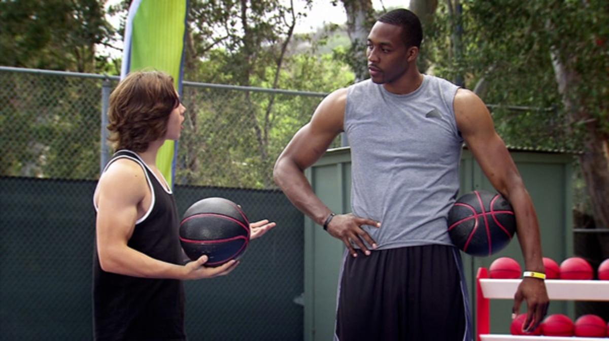leo howard dwight howard disney xd tryit
