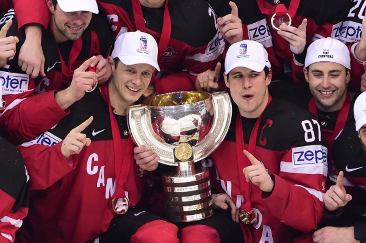 canada hockey worlds gold medal