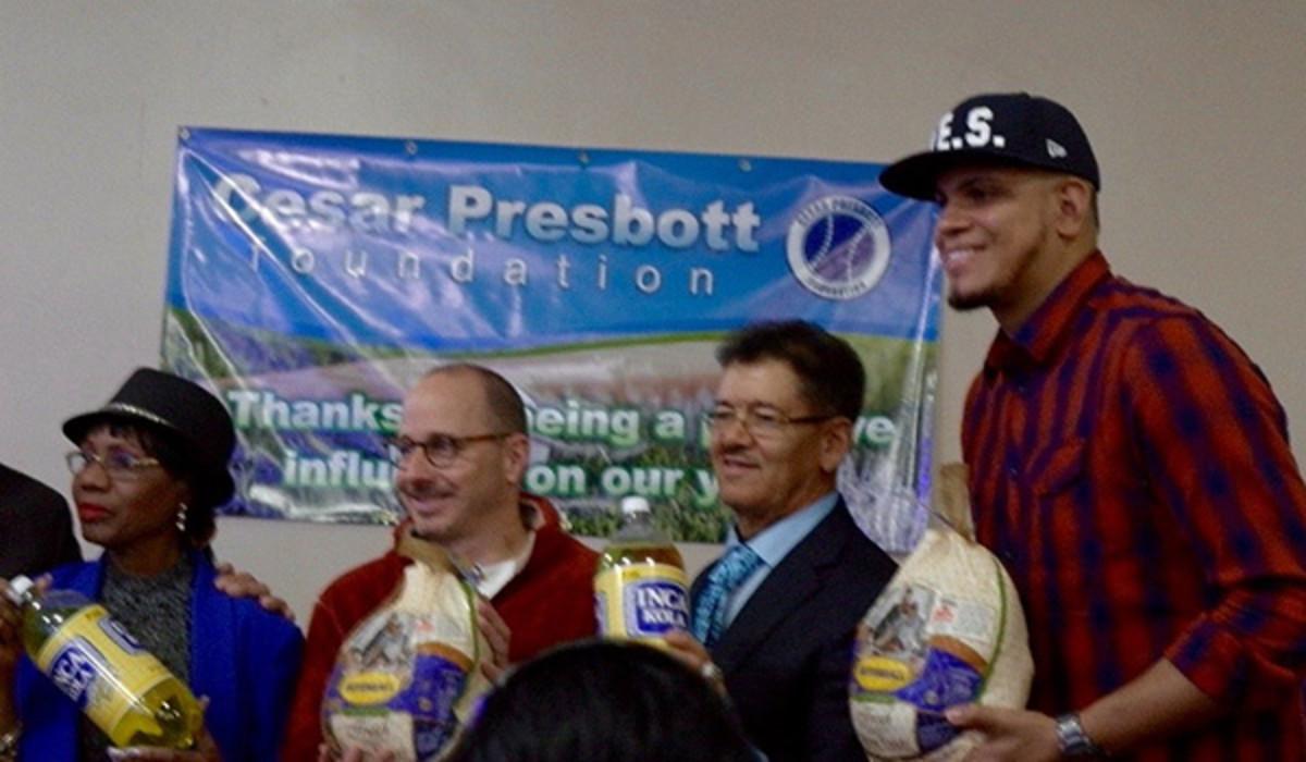 presbott foundation yankees turkey giveaway