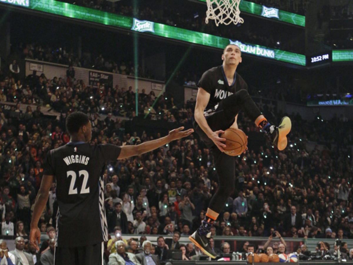 zach lavine all star game slam dunk contest