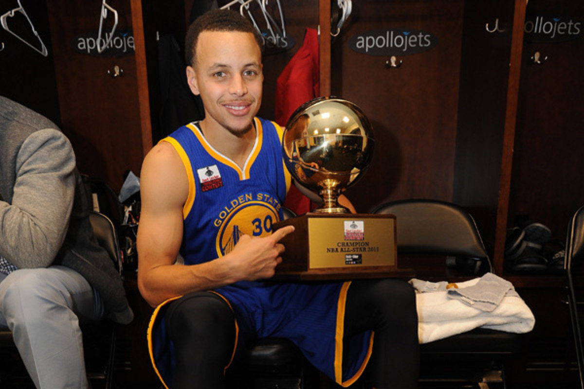 steph curry all-star game three point contest